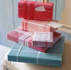 gift wrap, beauti cake, wrap gift, chic christma, modern christmas, christmas wedding