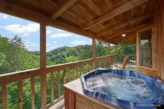 Serenity Ridge is a beautiful cabin rental located within minutes of Pigeon Forge, TN.  This cabin has a magnificent mountain view you can enjoy right from the hot tub on the deck.  With a king size bed, fireplace, BBQ grill and pool table you will not be dissapointed.  Perfect for a couple or small family.  Come visit the mountains in east Tennessee today!