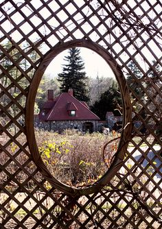 Through the Lattice Fence by katie.weaver, via Flickr