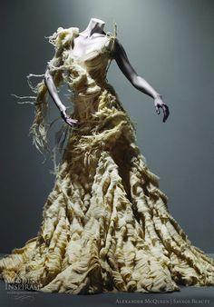 Alexander McQueen Widows of Culloden collection