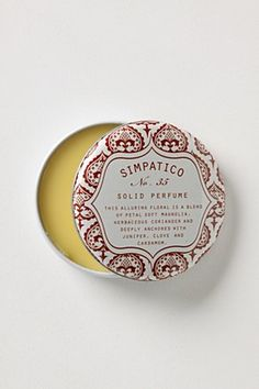 Solid Perfume.