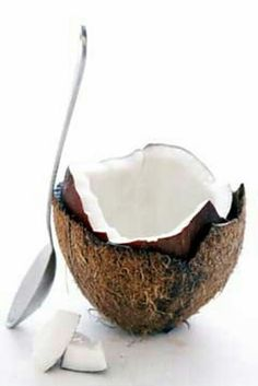 Coconut oil helps lose weight faster - see how and what to do with it. Pin now, read later