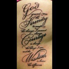 #tattoo #serenity #prayer #ribs #ouch #victoreledezma @Victor Mota Ledezma @kingskreationtattoo