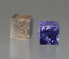 Depending on its orientation, iolite/cordierite can be perceived as near-colorless or bluish.