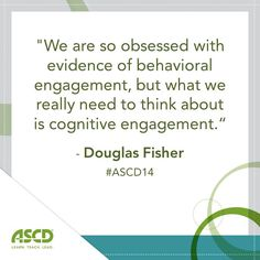 The Common Core Speaking and Listening Standards have drawn new attention to how these skills are developed across curriculum and across grade bands. In their 2014 ASCD Annual Conference session, authors Nancy Frey and Doug Fisher were enthusiastic about the potential within these curricular shifts.