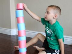 {10 Educational Pool Noodle Games} *Those cheap noodles are good for so many things, lol