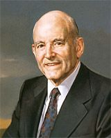 Howard W. Hunter - Basic Facts--14th Presidents of the Church of Jesus Christ of Latter-day Saints, served from 1994 until 1995