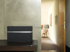 Beautiful new AirPlay speakers from Bowers & Wilkens.
