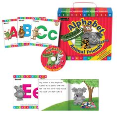 Alphabet Animal Friends Box Set. Introduce the #alphabet to your kiddies with #animals and #singalongs!