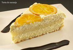 Tarta de naranja - MisThermorecetas.com