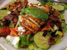 Low Calorie Cobb Salad recipe – 173 calories
