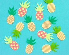 Omiyage Blogs: Washi Tape Pineapples