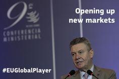 Karel De Gucht, Commissioner for Trade