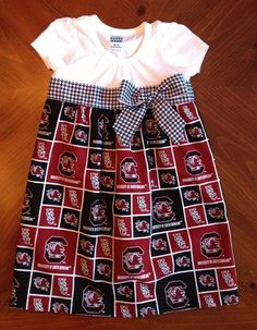 Hey, I found this really awesome Etsy listing at https://www.etsy.com/listing/161129155/usc-gamecocks-dress