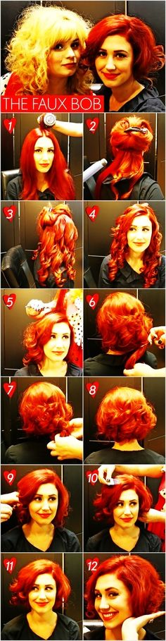The+Faux+Bob++#howto+#tutorial