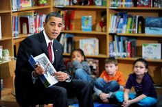 President Obama reading OF THEE I SING: A Letter to my Daughters!