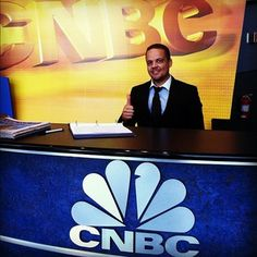 """""""Happy Monday"""" from everyone at CNBC Headquarters in Englewood Cliffs, NJ!"""