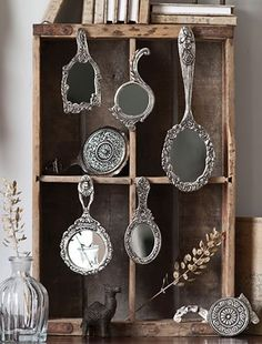 Victorian Hand Mirrors
