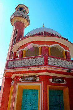 mosque in Kotli, Pakistan