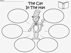 Free: The Cat In The Hat Bubble Map. For Educational Purposes Only/Not For Profit.  Freebie For A Teacher From A Teacher! Enjoy! fairytalesandfictionby2.blogspot.com