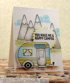 Oh my goodness, this is incredible, Sarah Gough!  Avery Elle Happy Camper and Home Sweet Home