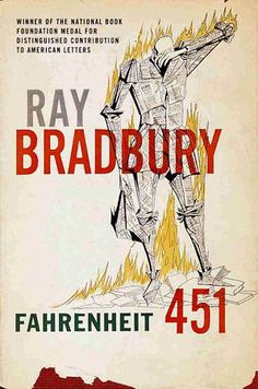 Ray Bradbury's FAHRENHEIT 451 Book Covers, from 1953 to the present.