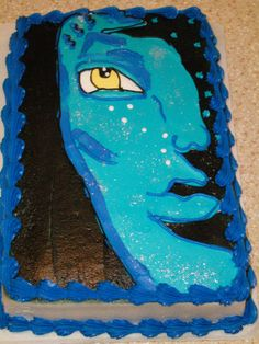 Avatar cake  www.allaboutrachelscakes.com