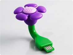 Store - USB Scent Flower | Purple Lavender