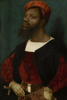 Jan Mostaert's Portrait of a Moor (1520-1530)