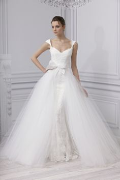 Monique Lhuillier Spring 2013 Bridal Collection | Tom & Lorenzo
