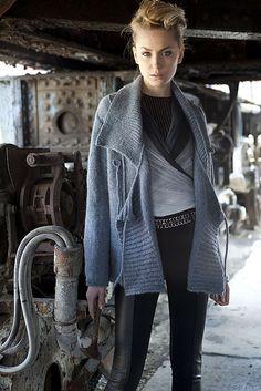 Vogue knitting pattern... beautiful modern/classic