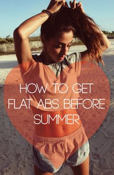 Want flat abs? Then #2 is a must!