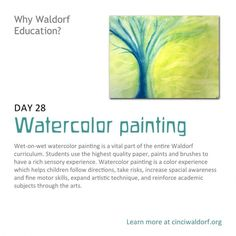 """Watercolor painting"" Things We Love About Waldorf Education"