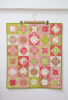 Economy Block Quilt by ellis & higgs, via Flickr