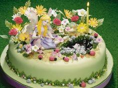 Pasteles Decorados | Hada de la primavera | Utilisima.com