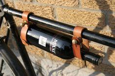 The Bicycle Wine Rack - Genius. by Jesse Herbert $25