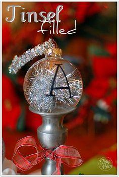 3 Homemade Christmas Ornaments {tutorial} | TidyMom