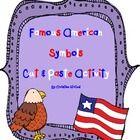 Famous American Symbols Cut & Paste Activity