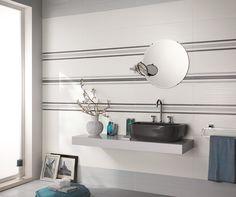 Collezione Dress Up per rivestimento bagni. Colori: pearl e white Decoro: brick Formato unico: 25x75 #piastrelleperbagno