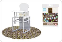 7:00AM - Breakfast - all new parents will soon learn the benefits of a baby Feeding Splash Mat