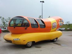 Oscar Mayer Weiner Mobile - another awesome vehicle!