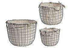 Asst of 3 Round Wire Baskets. OneKingsLane.com ($115.00)  $49.00