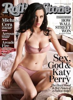 Katy Perry, Photoshopped for Rolling Stone #airbrushing #fake #beauty #skinny #thin #tummy #retouch #body