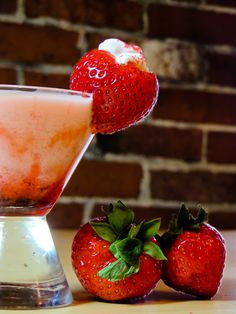 Pinnacle® Whipped™ Vodka, strawberry schnapps, cream. yes please!!