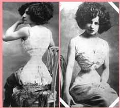 Polaire beautiful vaudeville actress, singer, dancer in the late 1800-early 1900's... measurements purported to be bust 38'', waist 14''...