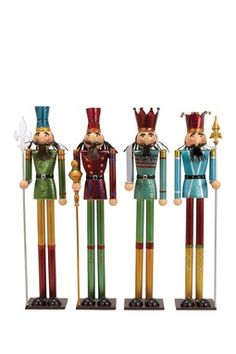 Nutcrackers - Set of 4