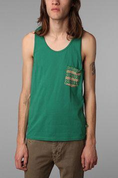 UrbanOutfitters.com > Koto Jaquard Pocket Tank Top