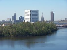 Beaumont Texas on the banks of the Neches River