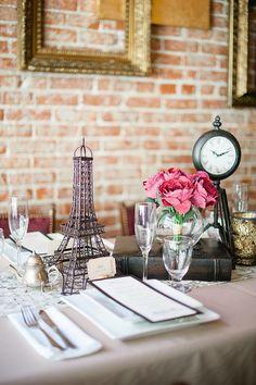 Parisian bridal shower ideas