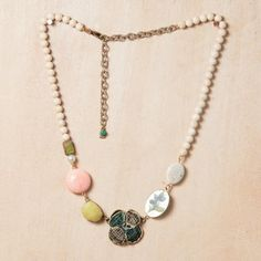 Riverstone Garden Necklace now featured on Fab.